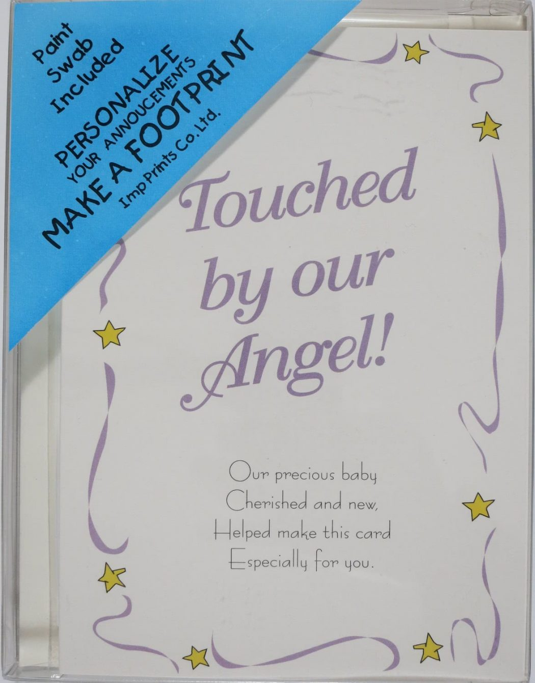 Angel Birth Announcements & Blue Swab
