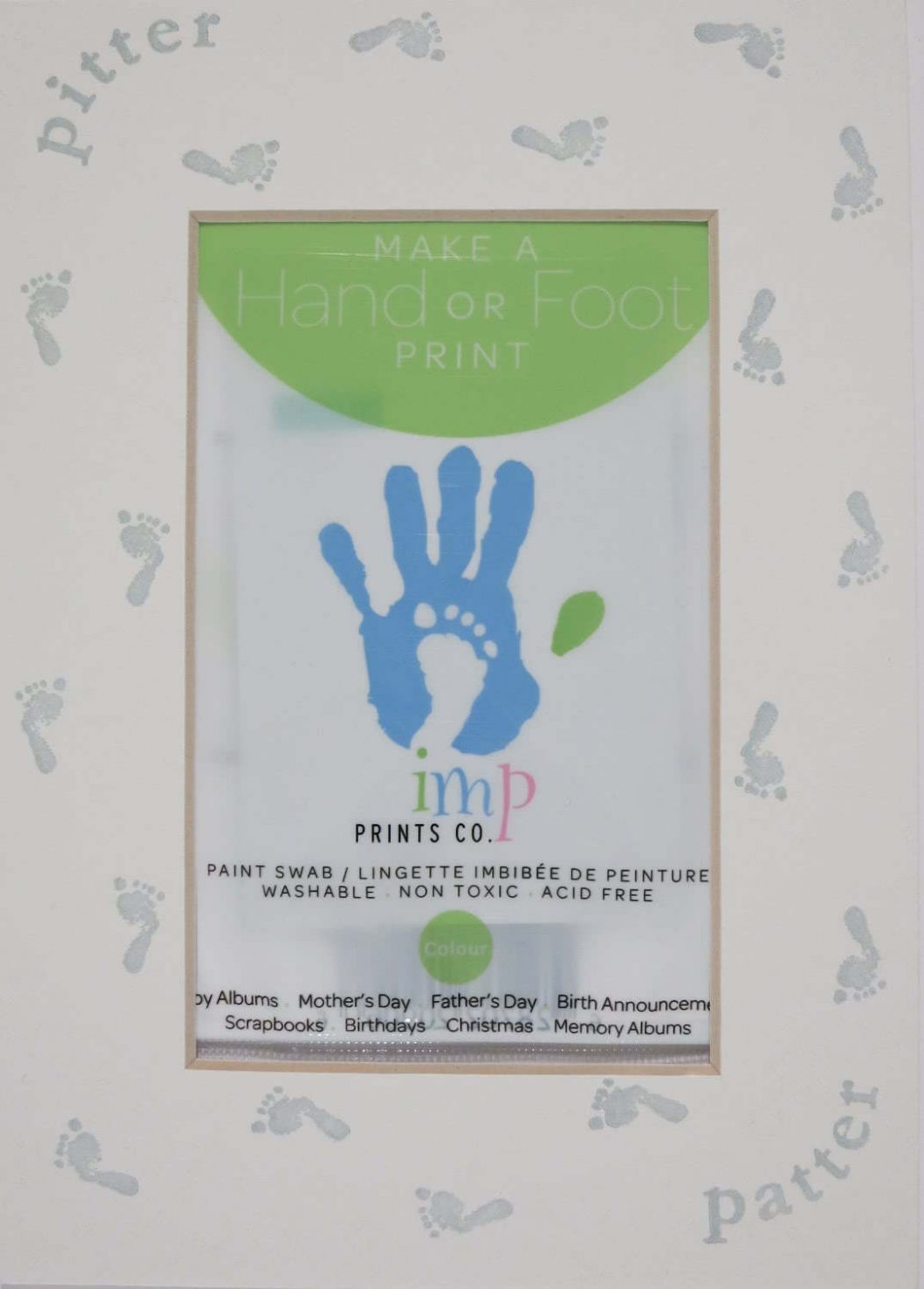 Green Footprint Mat Kit, Printed