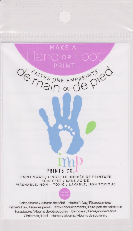 Lingette Imbibée De Peinture, Vert - Imp Prints Co.